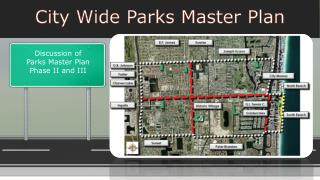 City Wide Parks Master Plan
