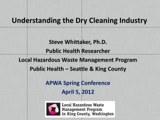 Understanding the Dry Cleaning Industry