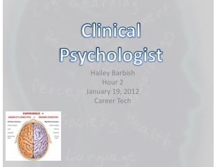 Hailey Barbish Hour 2 January 19, 2012 Career Tech