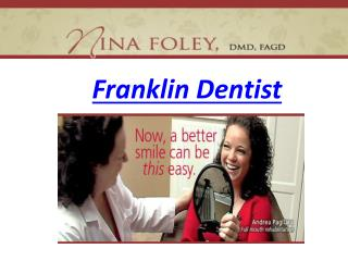 Franklin Dentist