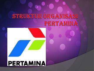 STRUKTUR ORGANISASI PERTAMINA