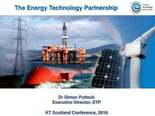 The Energy Technology Partnership