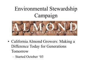 Environmental Stewardship Campaign