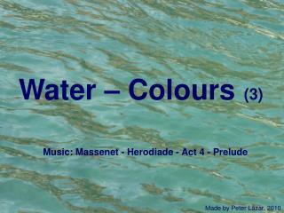 Water – Colours   (3)