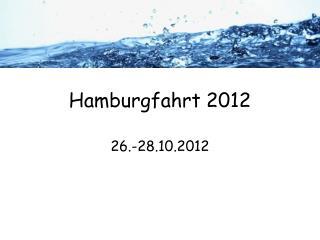 Hamburgfahrt 2012