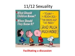 11/12 Sexuality