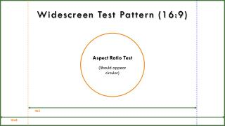 Widescreen Test Pattern (16:9)