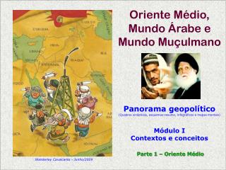 Oriente Médio,  Mundo Árabe e Mundo Muçulmano