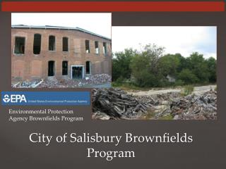 City of Salisbury Brownfields  Program