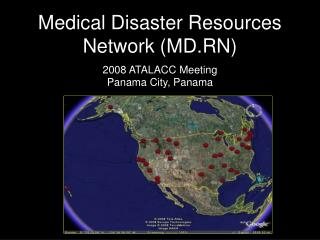 Medical Disaster Resources Network (MD.RN)