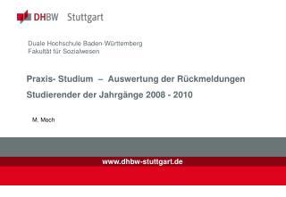 Duale Hochschule Baden-Württemberg  Fakultät für Sozialwesen