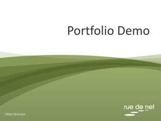 Portfolio Demo