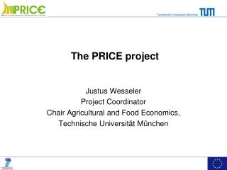 The PRICE project