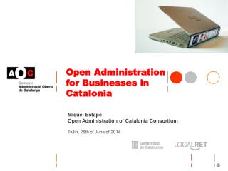 Open Administration for Businesses in  Catalonia