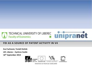 F di  as a source OF patent activity in v4