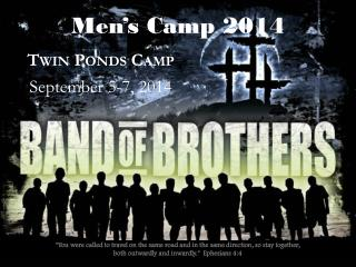 Men's Camp  2014