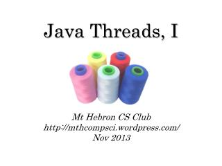 Java Threads, I