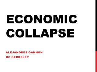 Economiccollapse