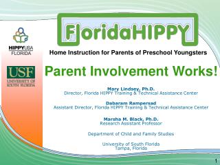 Parent Involvement Works!
