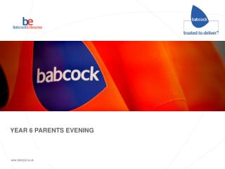 YEAR 6 PARENTS EVENING