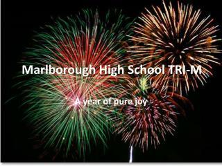 Marlborough High School TRI-M