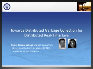 Towards Distributed Garbage Collection for Distributed Real-Time Java