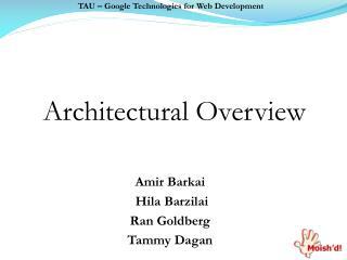 TAU  �  Google Technologies for Web Development