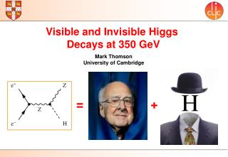 Visible and Invisible Higgs  Decays at 350  GeV