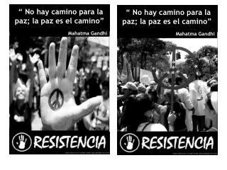 """"""" No hay camino para la paz; la paz es el camino"""" Mahatma Gandhi"""