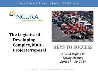 The Logistics of Developing Complex, Multi-Project Proposal