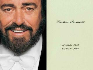 Who would tell Fernando Pavarotti