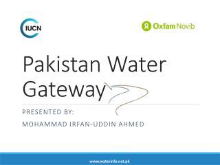 Pakistan Water Gateway