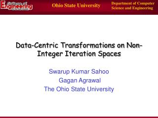 Data-Centric Transformations on Non-Integer Iteration Spaces