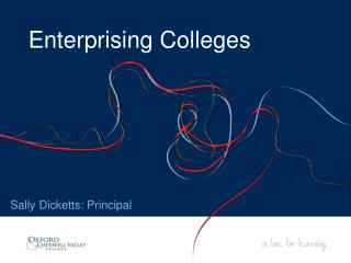 Enterprising Colleges