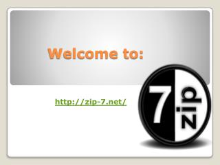 Download 7zip Free