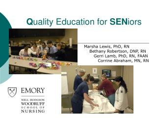 Q uality Education for  SEN iors