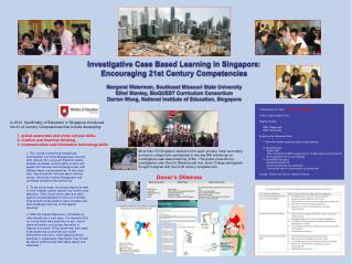 Investigative Case Based Learning in Singapore:  Encouraging 21st Century Competencies