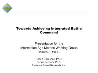 Towards Achieving Integrated Battle Command