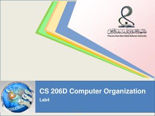 CS 206D Computer Organization Lab4