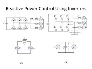 Reactive Power Control Using Inverters