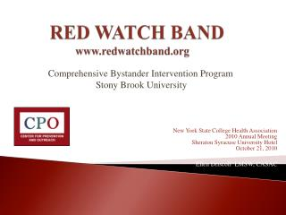 RED WATCH  BAND redwatchband
