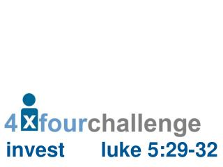 invest luke  5:29-32