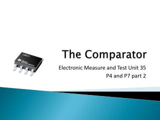 The Comparator
