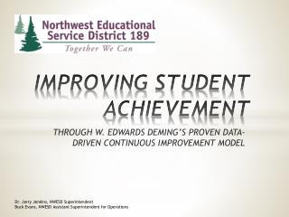 IMPROVING STUDENT ACHIEVEMENT
