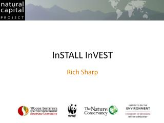 InSTALL InVEST