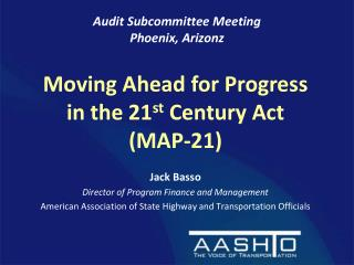 Audit Subcommittee Meeting Phoenix, Arizonz