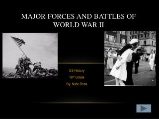 Major Forces and Battles of World War II