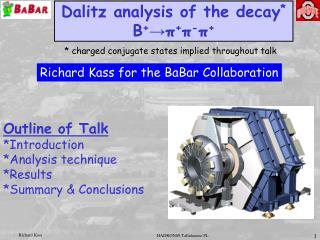 Dalitz analysis of the decay *  B + →π + π - π +