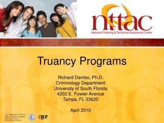 Truancy Programs