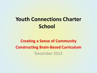 Youth Connections Charter School